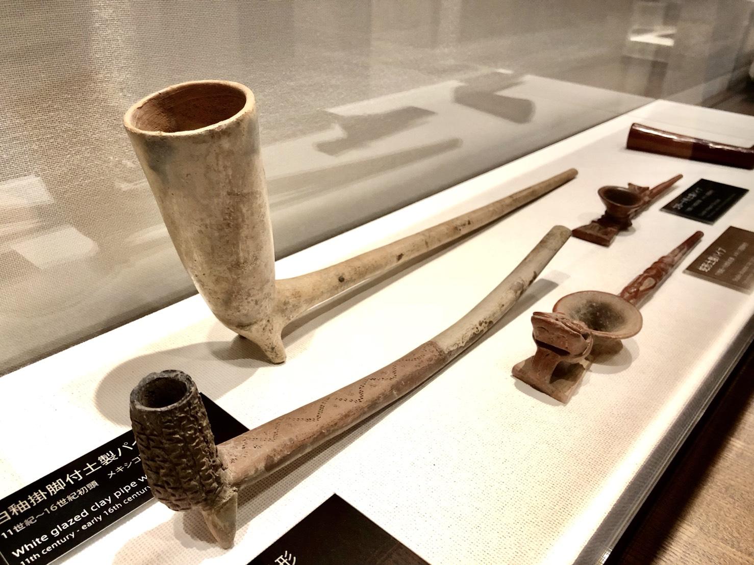 11〜16世紀頃のパイプ(土製)