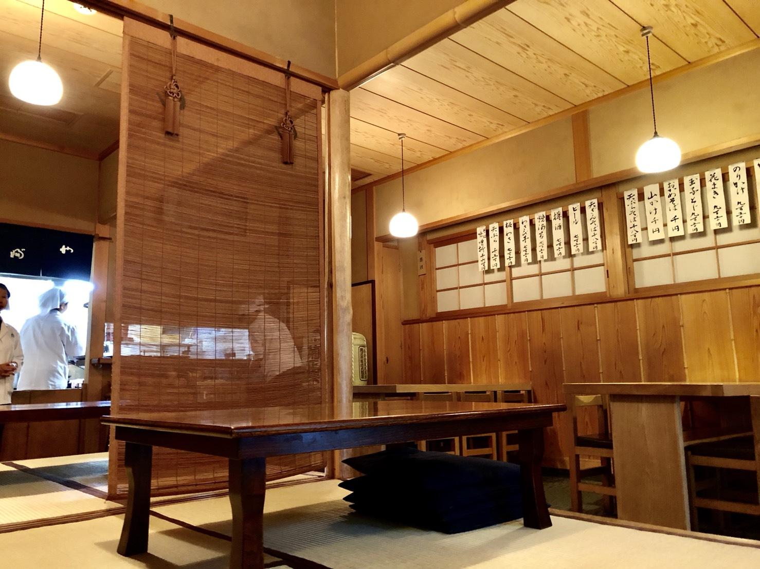 並木藪蕎麦(店内)