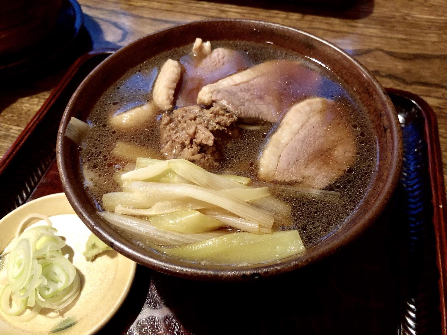並木藪蕎麦(鴨南蛮)