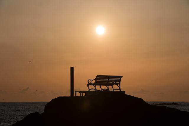 日本最南端の夕日スポット