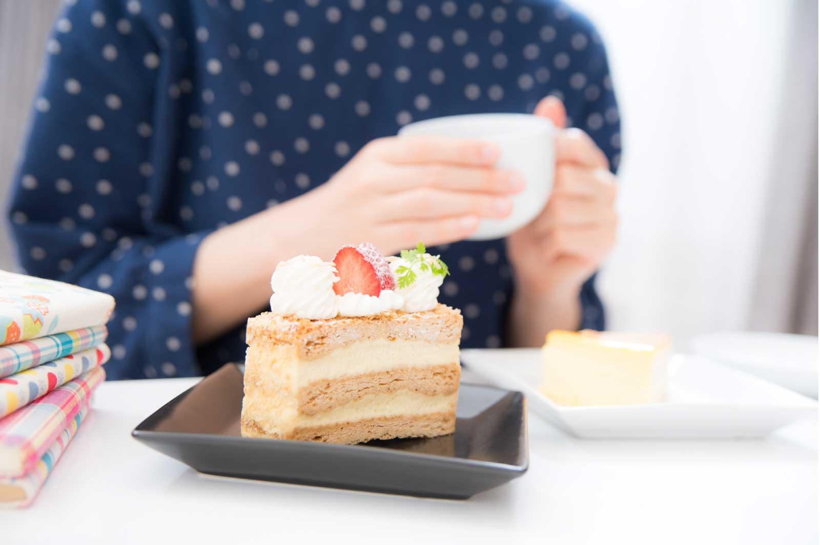 大好きなケーキを食べておきたい