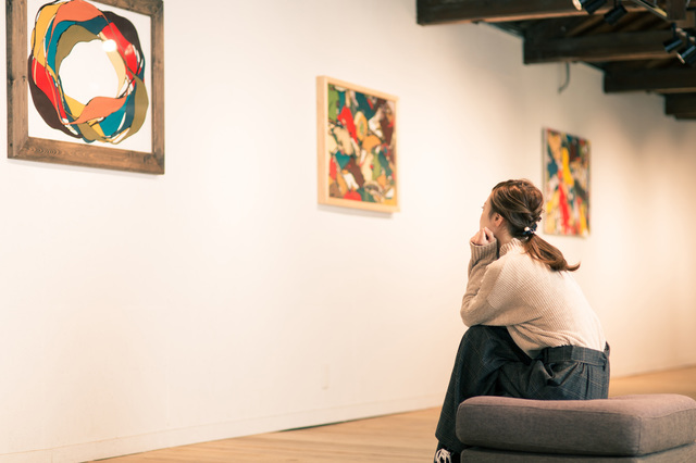 美術館や美術展が多い