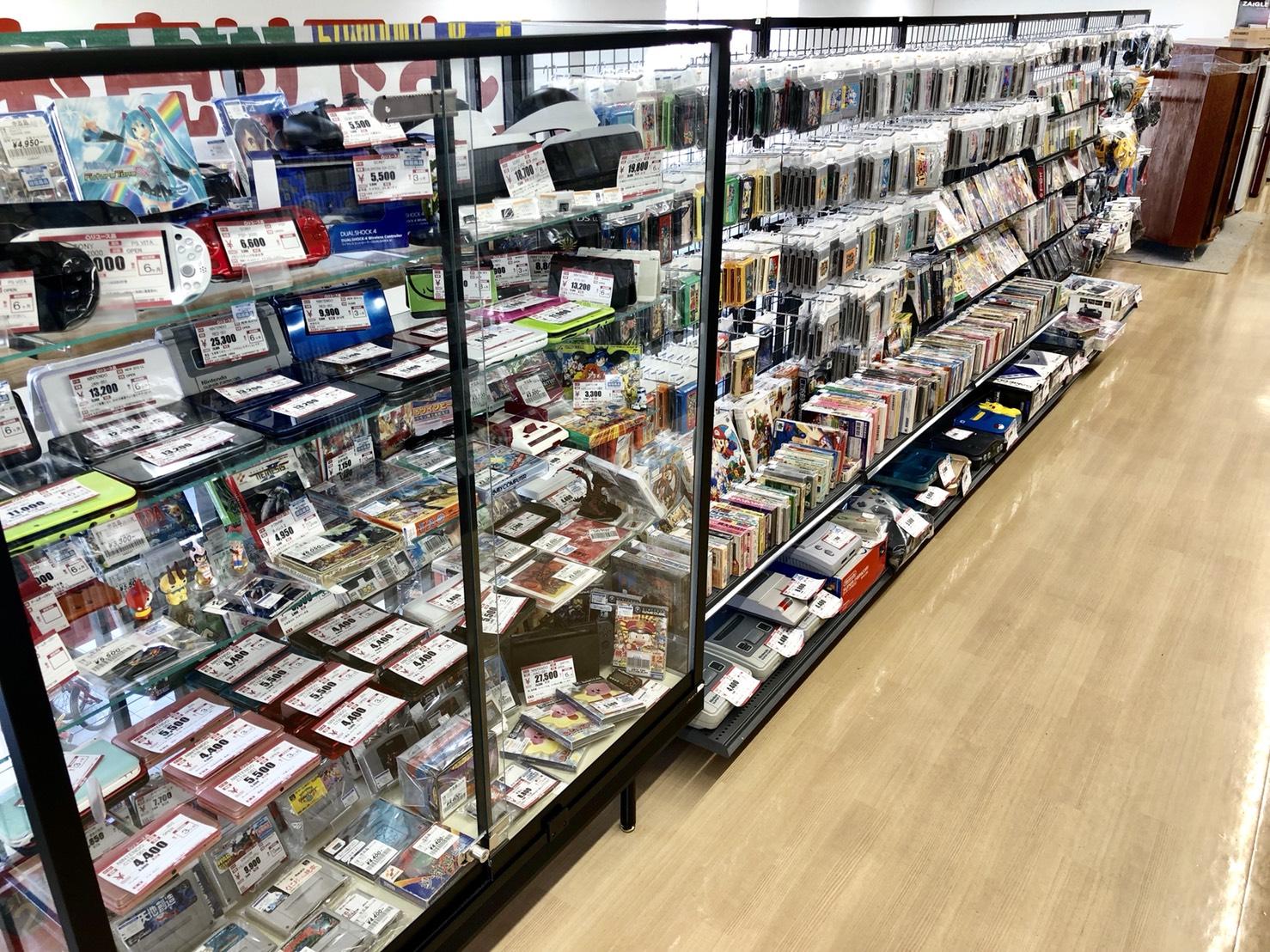 ハードオフ 松戸古ヶ崎店(レトロゲームコーナー)