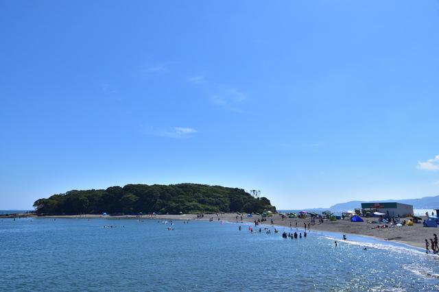 沖ノ島は「歩いて行ける」無人島