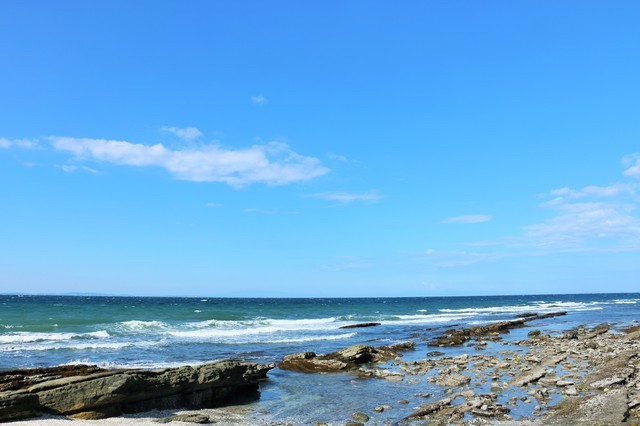 綺麗な海を見ていると心が洗われる