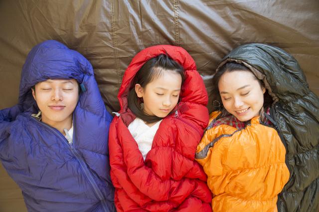 一番大事なのは、寝袋
