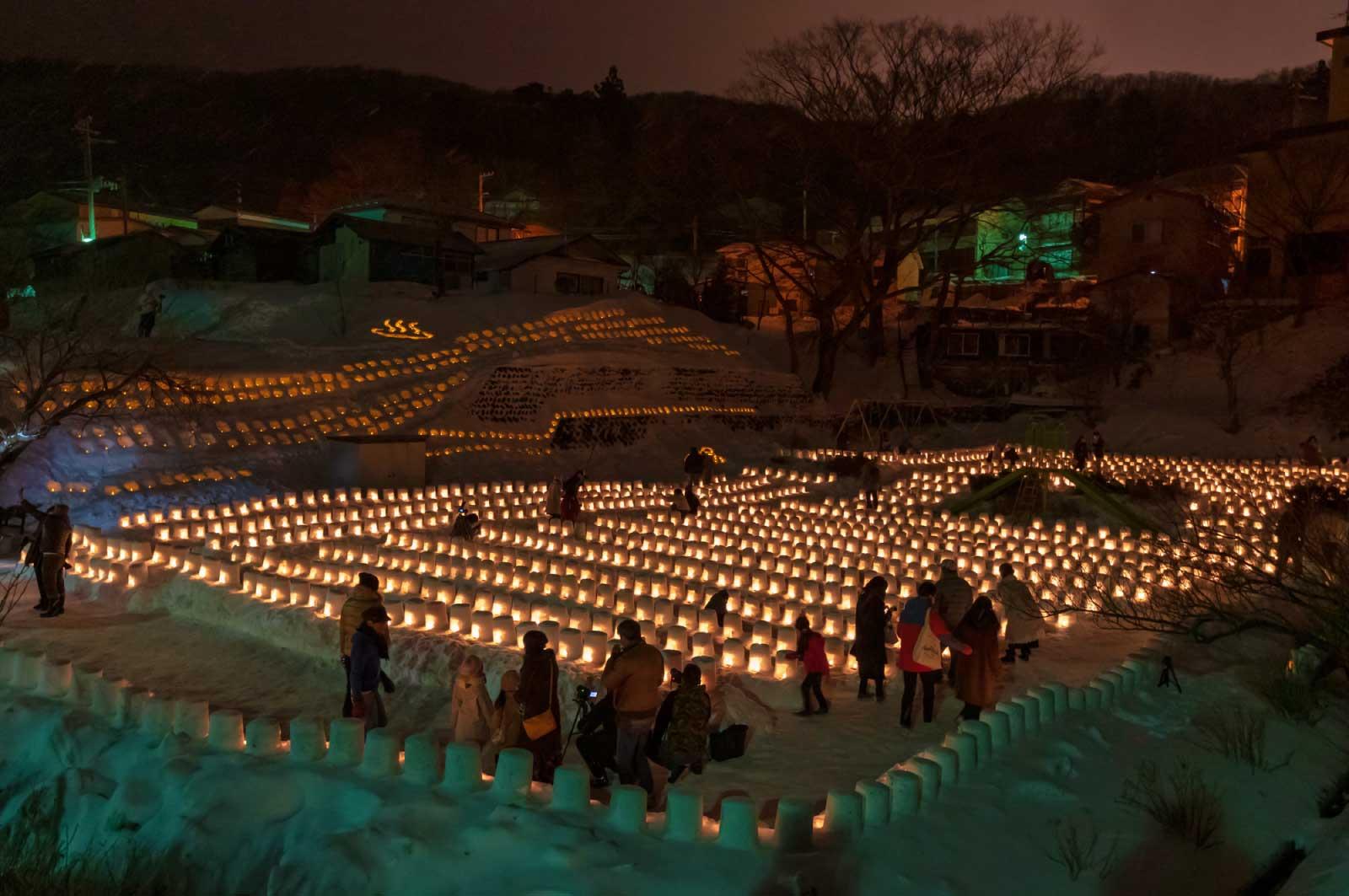 冬のお祭り