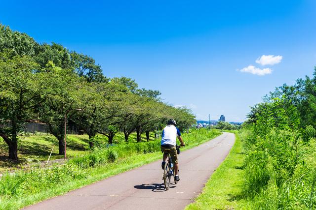 休日のツーリングにはサイクリングロードがオススメ