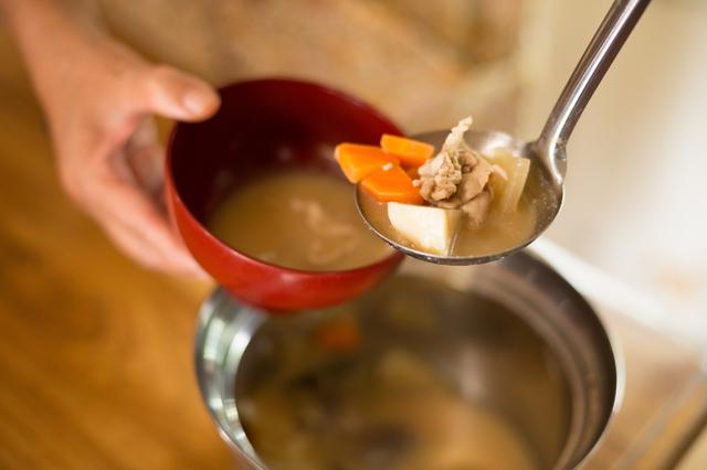 出汁から作る味噌汁