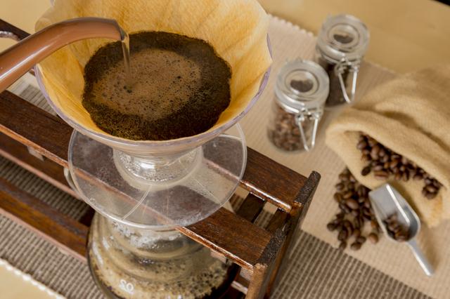 出来上がりのコーヒーの液量