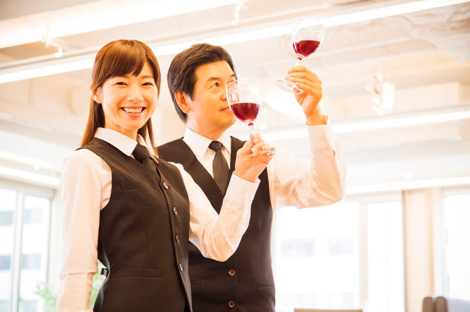 ワインスクールへ通う