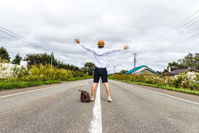 ヒッチハイクの旅