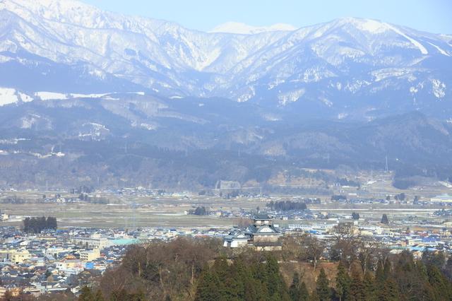 福井県の街並み
