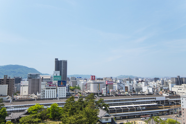 福山市の景色