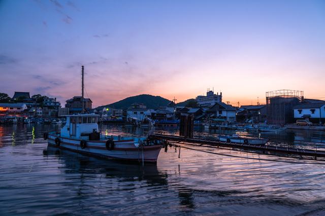 鞆の浦の夕暮れ