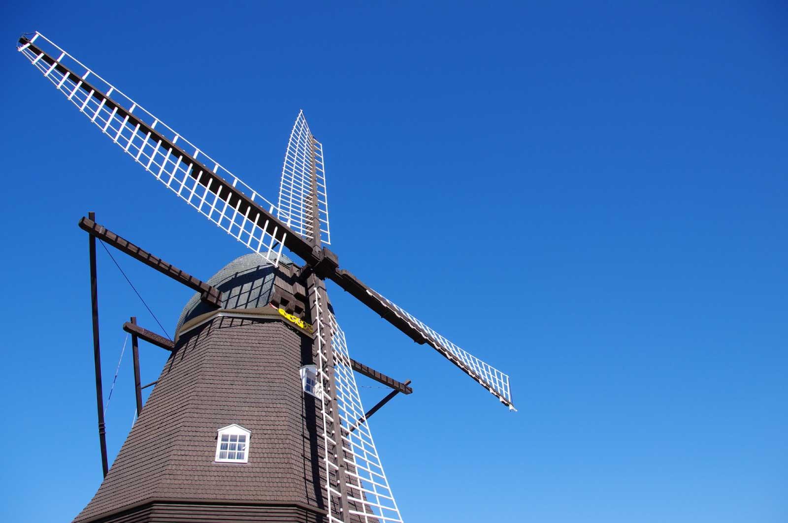 デンマーク式の風車