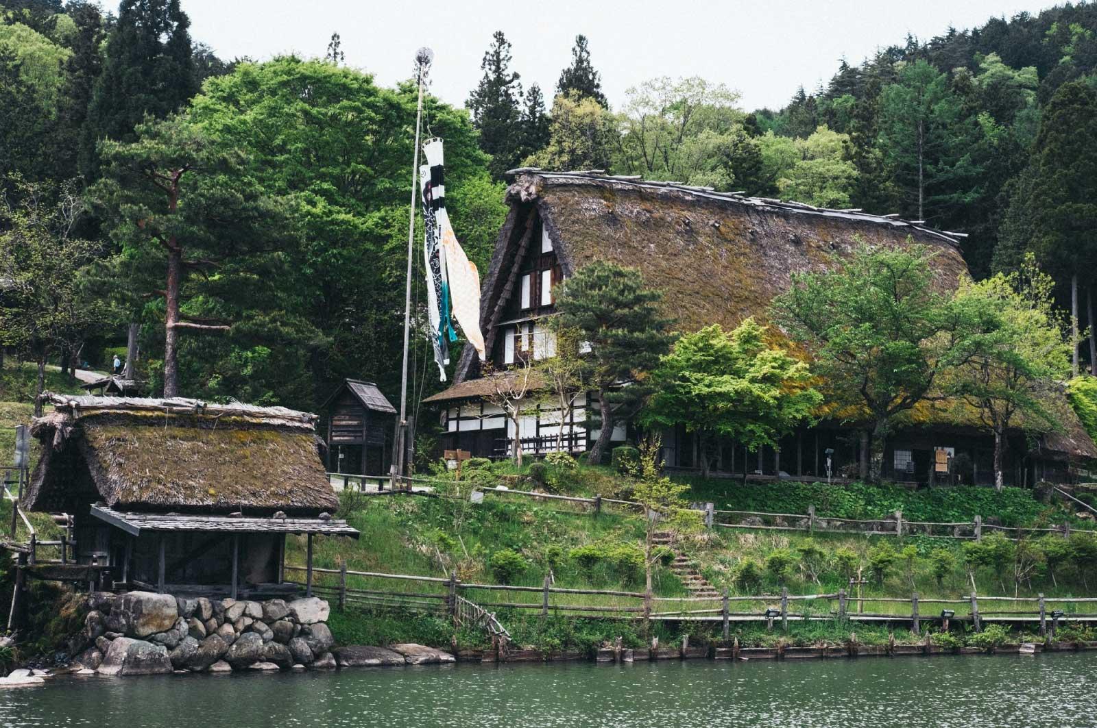 岐阜「飛騨民俗村」に訪れてみてください