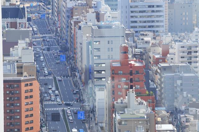 五反田のオフィスビル