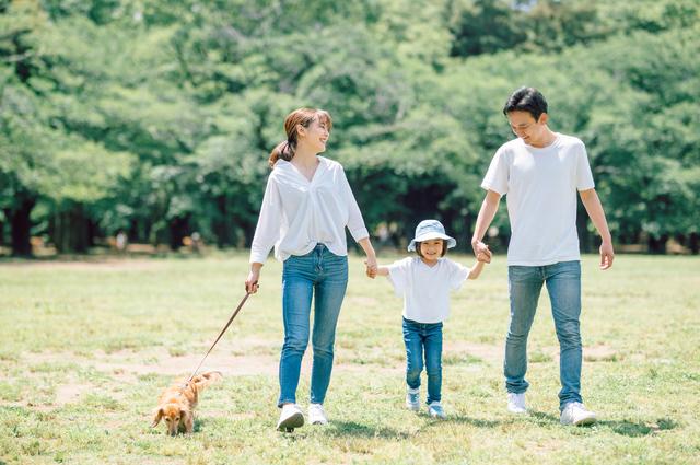 群馬に住む家族