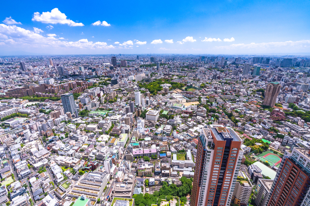 大規模な植物園がない東京