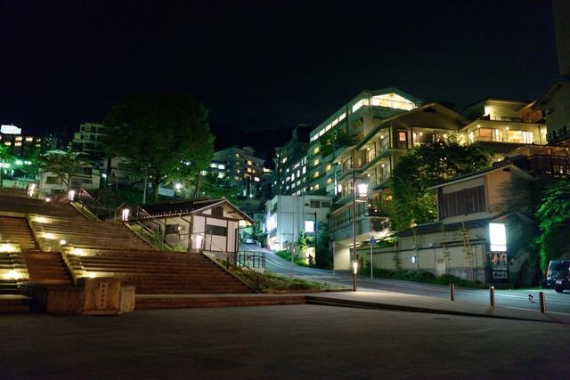 夜の伊香保温泉