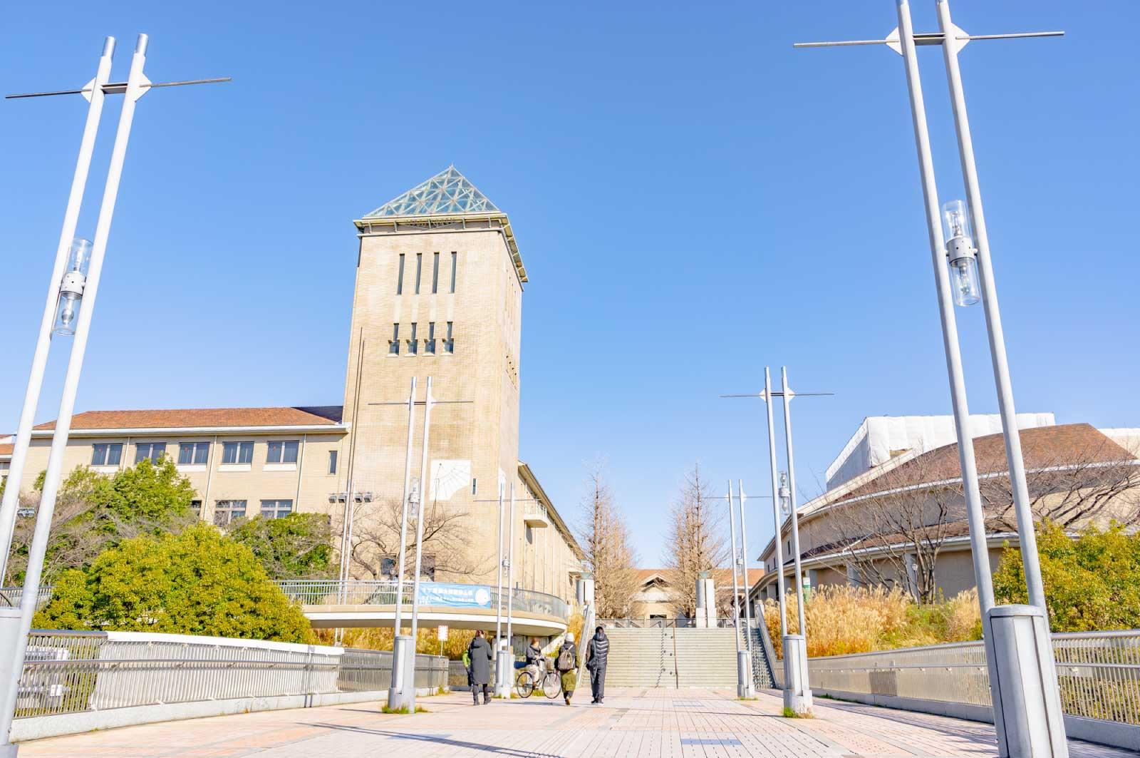八王子市内には総合大学から工科大学、美術系大学まで