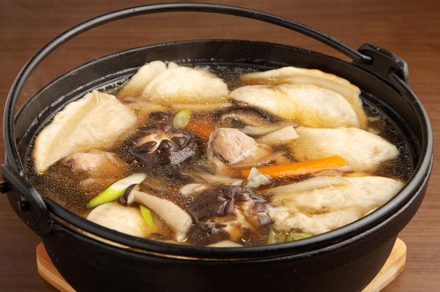 八戸の郷土料理・せんべい汁
