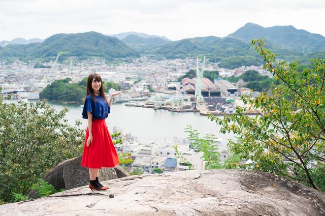 広島観光に来た人