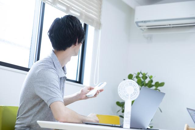 エアコンより扇風機が好きな男