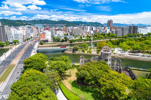 ふらっと広島まで旅行に