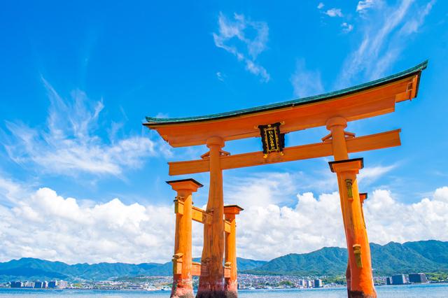 広島・宮島にある国宝の厳島神社
