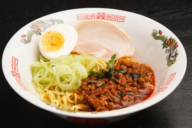 広島市の「汁なし担担麺」
