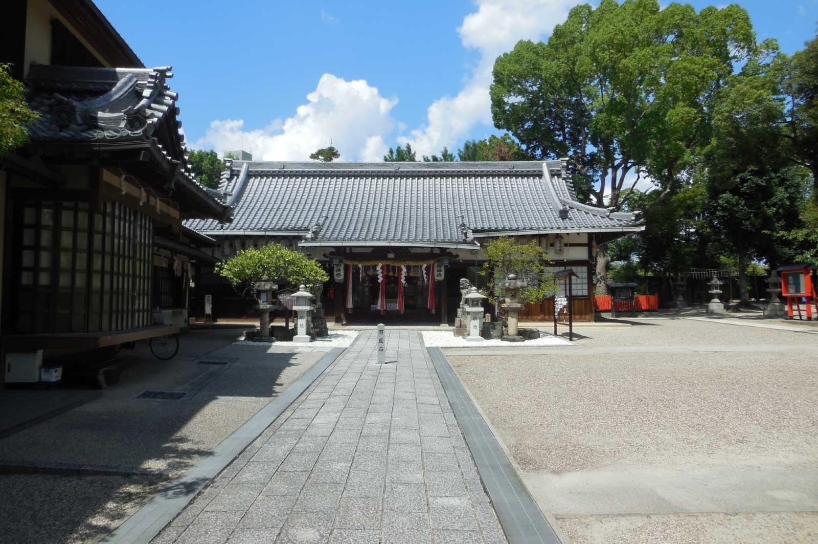 片埜神社(境内)