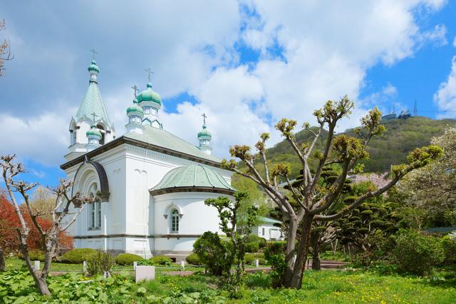 函館ハリストス正教会(横から)