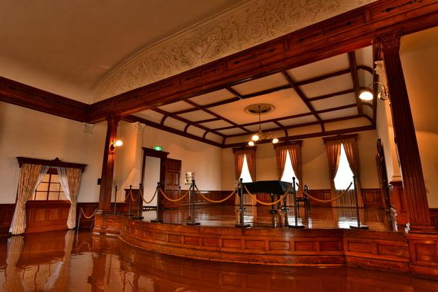 旧函館区公会堂(内部)2