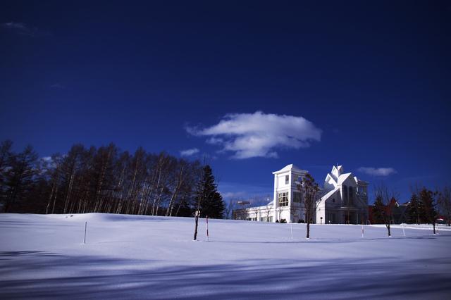 冬のさっぽろ羊ヶ丘展望台(北海道)