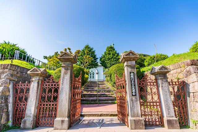 函館ハリストス正教会(正面入口)