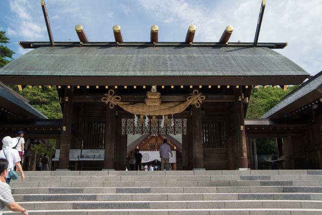新緑の北海道神宮