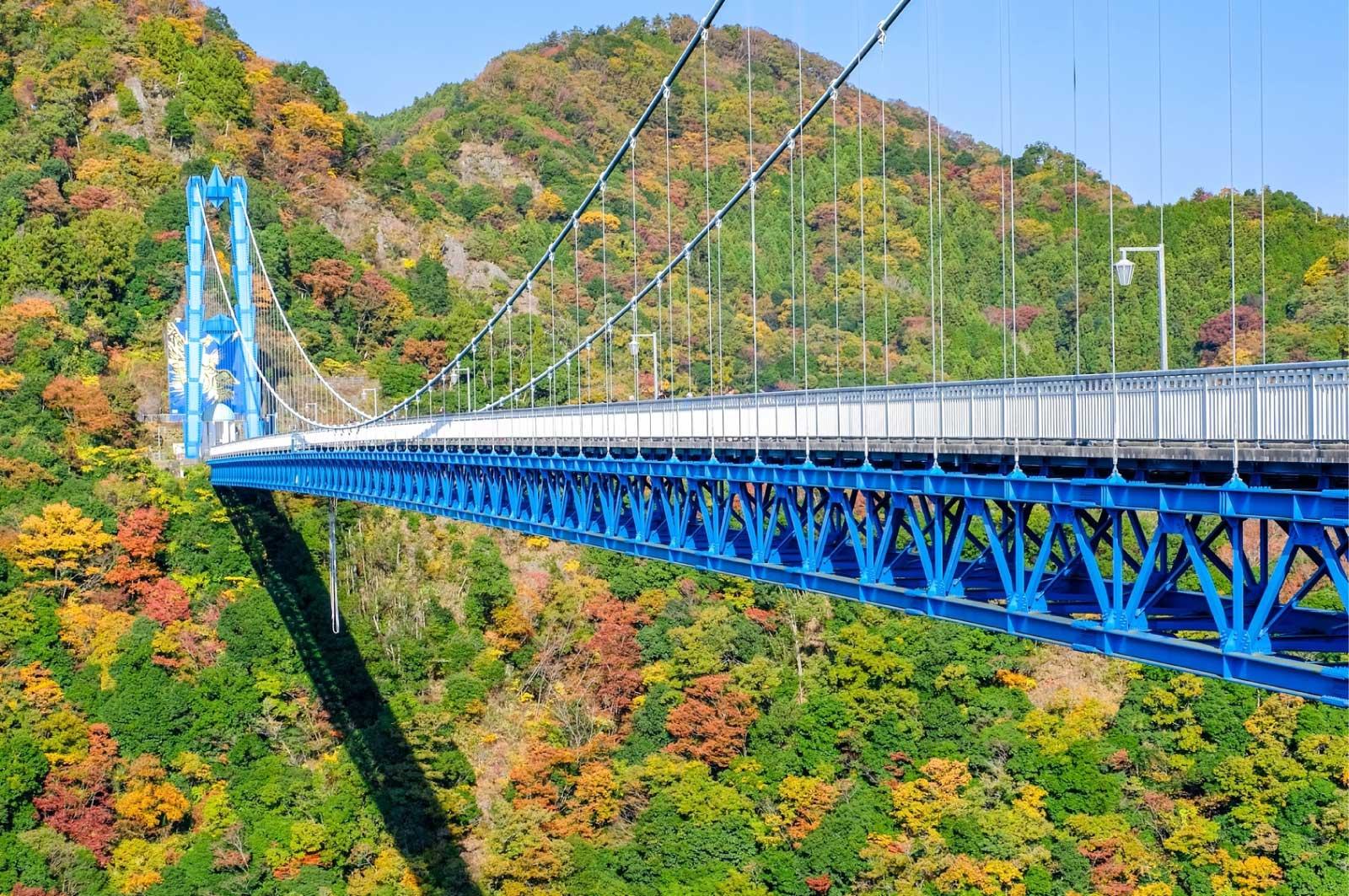 茨城を代表する橋・竜神大吊橋