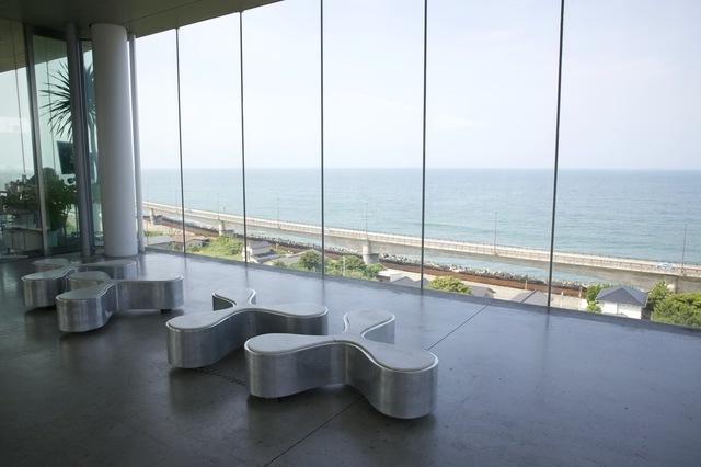 日立駅(茨城)から見える海