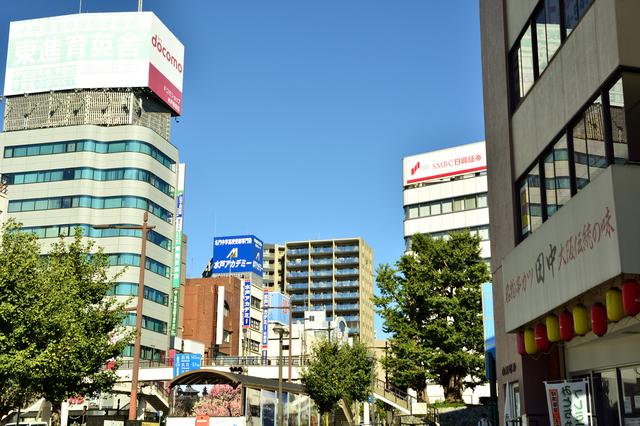水戸駅前(茨城)