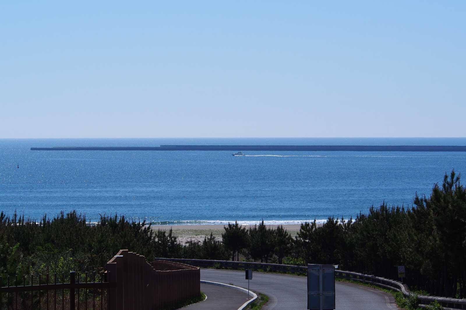 日立の海岸