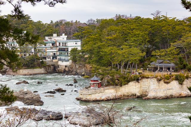 日本情緒を感じる海岸