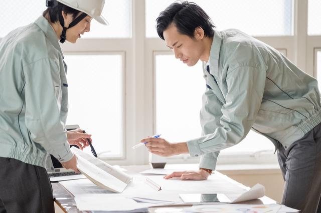 建築関係の仕事