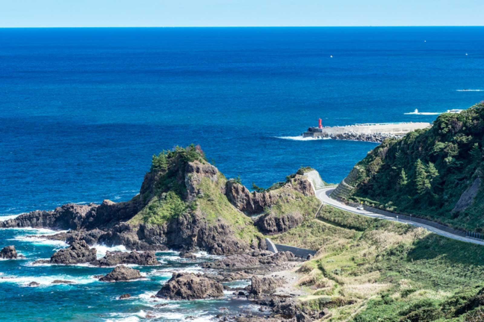 聖域の岬からの絶景