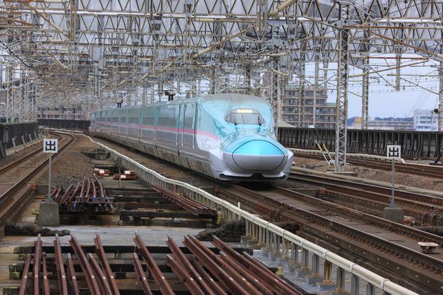 東北新幹線で岩手へ