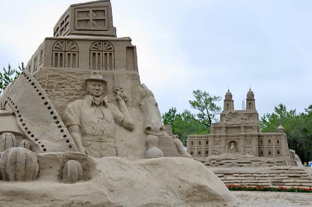 砂像(サンドアート)