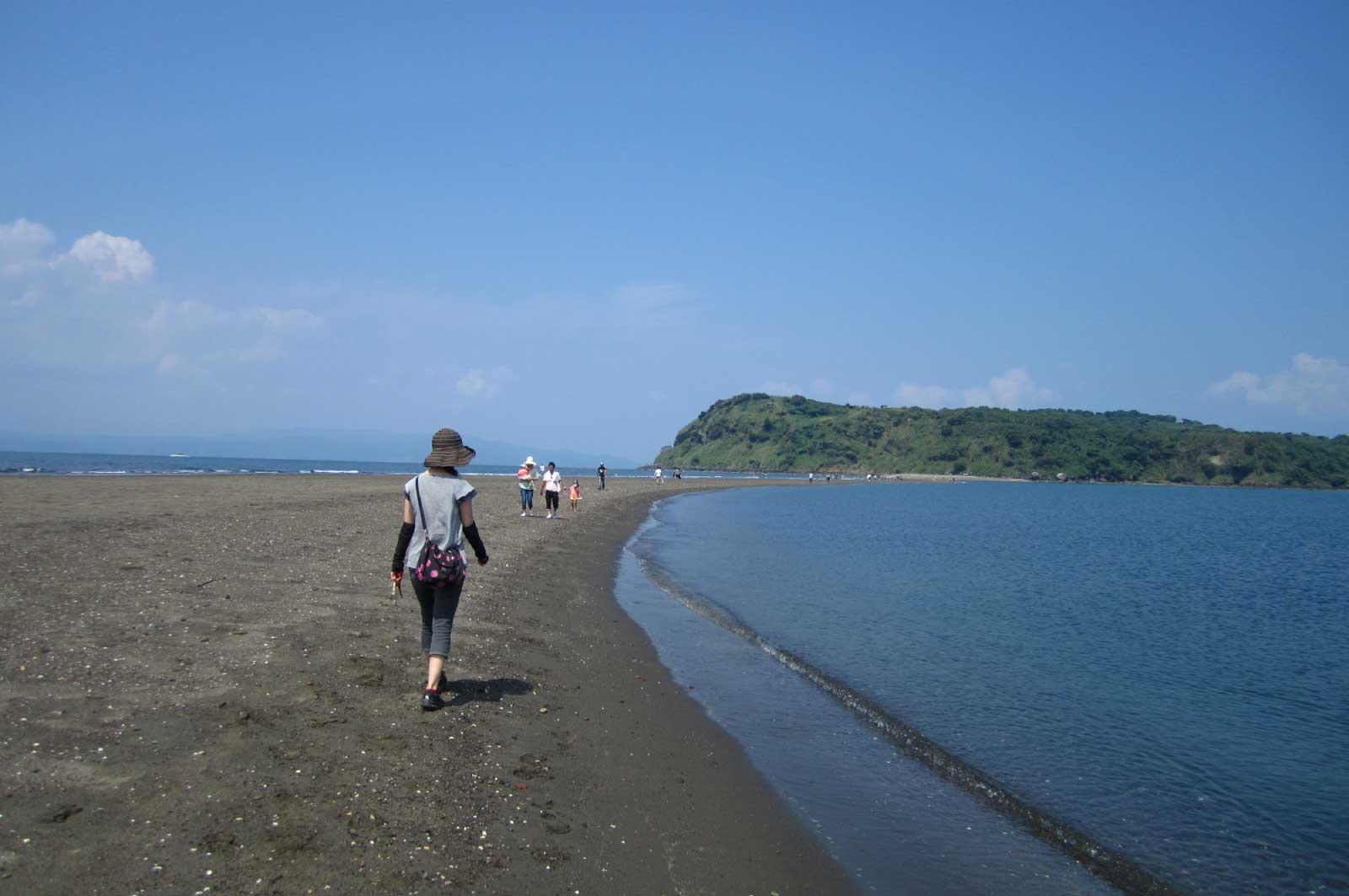 歩いていける島・知林ヶ島