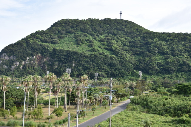 知林ヶ島と展望台