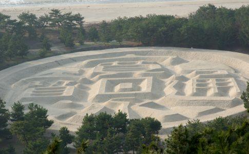 観音寺市といえば銭形砂絵
